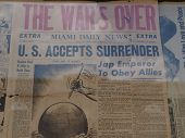 U.S. Accepts Surrender