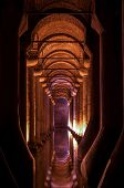 foto of cistern  - Ancient Basilica Cistern in Istanbul - JPG