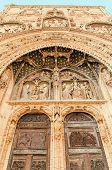 Santa Maria La Real Door