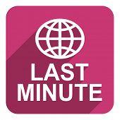 last minute flat  icon