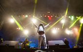 BONTIDA - JUNE 20: THIEVERY CORPORATION performs live at Electric Castle Festival at June 19, 2014 i