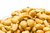 Heap Of Yummy Roasted Peanuts