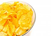 Crispy Chips In A Bowl