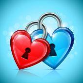 Two Heart Locks