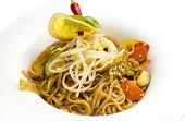 chicken and spaghetti