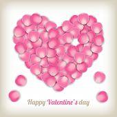 Rose Petal Heart