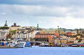 View Of Slussen Region In Stockholm, Sweden