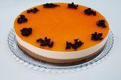 chocolate orange cream cake