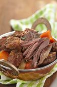 Homemade Irish Beef Stew with Carrots