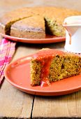 Carrot, Courgette Cake