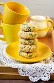 Cheese And Spinach Cakes