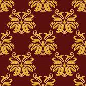 Lush foliate seamless pattern