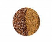 Flax Seed And Ground Flax