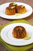 Mini Lime Bundt Cakes