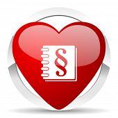 law valentine icon