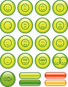 Icon Set- Smileys (Vector)