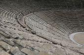 Ruinas del teatro de Epidauro, Peloponeso, Grecia