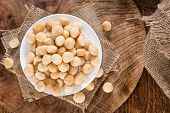 Portion Of Macadamia Nuts