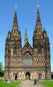 Lichfield Cathedral.