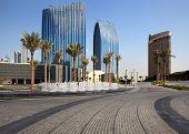 Urban landscape. Modern Dubai.