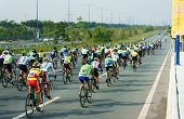 Cycle Race, Asia Sport Activity, Vietnamese Rider