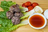 Asian Meatballs With Sauce