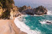 Mcway falls in Big Sur, California