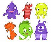 Cute Monsters Set