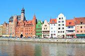 Beautiful Quay In Gdansk
