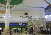 Terminal B In Punta Cana International Airport