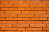 External brick wall