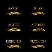 Film Stars Laurels 4