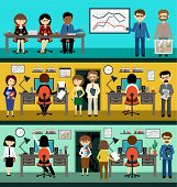People In The Style Flat Design