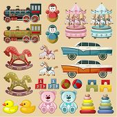 Set Of Toys.