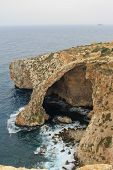 Blue Grotto View in Malta island, touristic destination in Malta poster