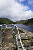The Garreg-ddu Reservoir.