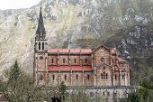 foto of battle  - Basilica of Our Lady of Battles Covadonga Asturias Spain - JPG