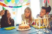 image of birthday  - birthday party at home - JPG