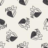 picture of defibrillator  - Aed Doodle - JPG