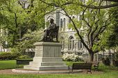 foto of virginia  - The Hunter Holmes McGuire Monument located in Historic