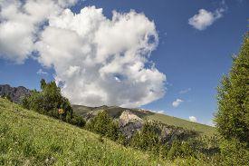 stock photo of shiva  - Mountain Valley Shiva - JPG
