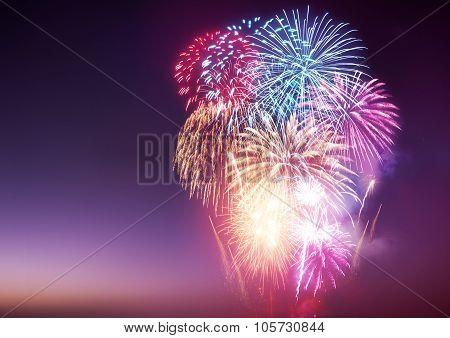 fireworks display poster id 105730844