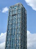 Modern Skyscraper In Spain