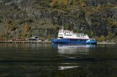 Ferry At Flam