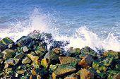 Surf at Atlantic Ocean