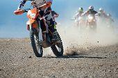 Постер, плакат: motocross sport