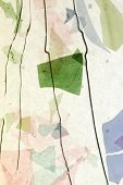 stained glass mosaic confetti texture background