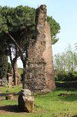 Ruin of a roman temple