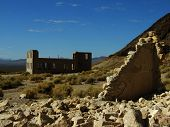 School At Rhyolite