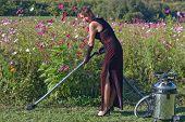 Woman Flower Keeper